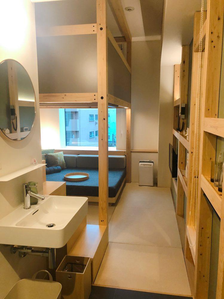 「星野リゾート OMO5 東京大塚」の部屋(YAGURA Room)