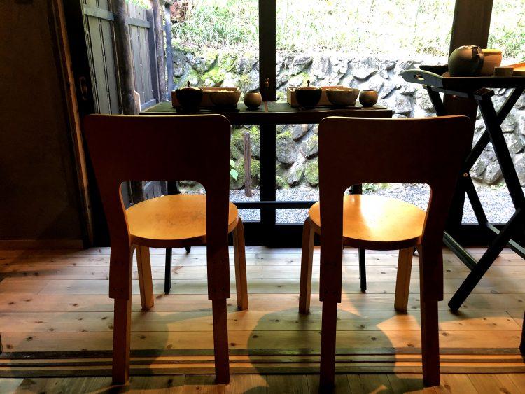 「NIPPONIA 小菅 源流の村」の部屋での朝ごはん