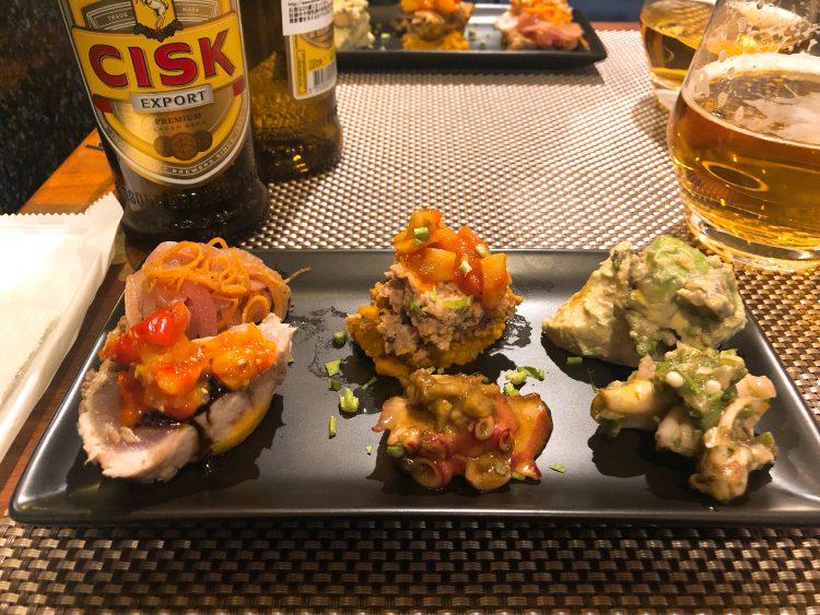 新橋「レストラン マルタ」の料理